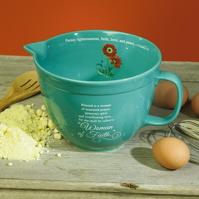Woman of Faith Mixing Bowl 56664T