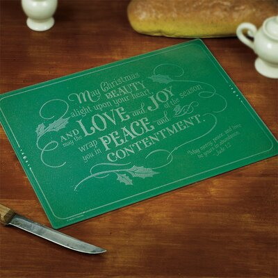 Christmas Beauty, Love, Joy Cutting Board 56131T