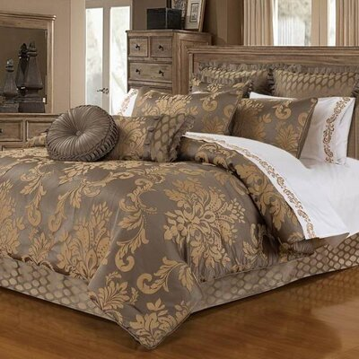 Upland 4 Piece Comforter Set Size: King