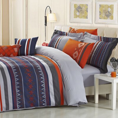Woodlake 5 Piece Comforter Set Size: Queen