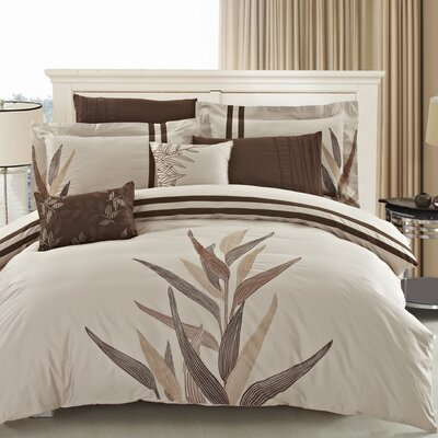 Cerna 5 Piece Comforter Set Size: King