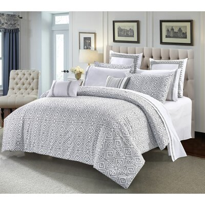 Sivan 3 Piece Duvet Cover Set Size: King