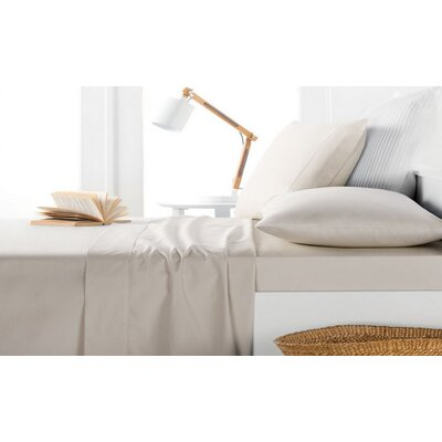 Andress Rayon Bamboo 600 Thread Count Sheet Set Size: Queen, Color: Taupe