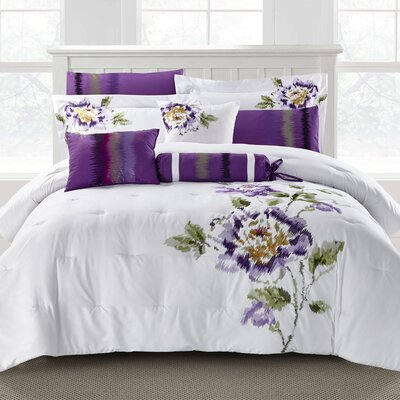 Hendersonville 9 Piece Comforter Set Size: King