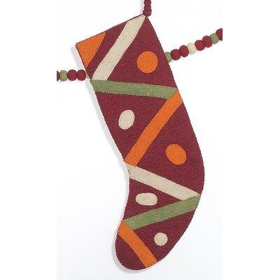 Criss Cross Christmas Stocking SF0401R
