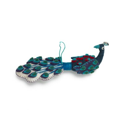 Peacock Ornament (Set of 2) OF1PEA