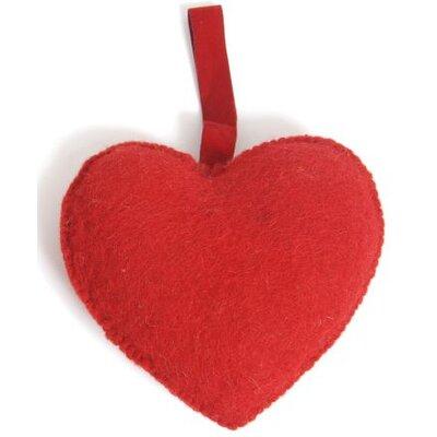 Felt Heart Ornament (Set of 3) Size: Large