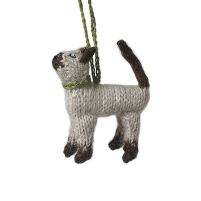 Siamese Cat Christmas Ornament