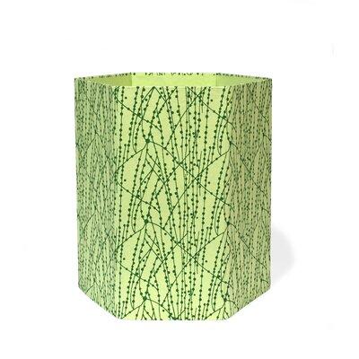 2 Gallon Waste Basket (Set of 3) Color: Green