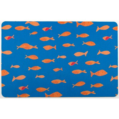 Coastal Fish Tank Floor Mat