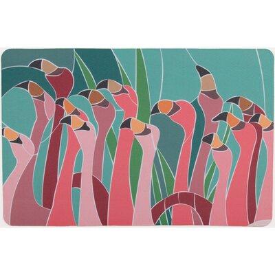 Flamingo Walk Floor Mat