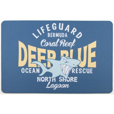 Coastal Deep Shark Floor Mat