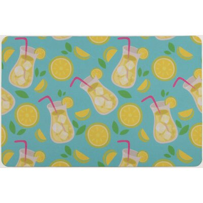 Garden Lemonade Floor Mat