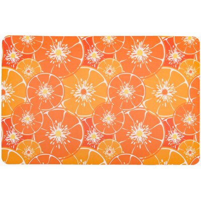 Garden Orange Slices Doormat