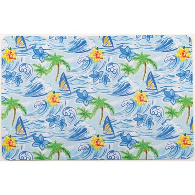 Surfer Hawaiian Surf Floor Mat