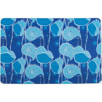 Coastal Nautilus Float Floor Mat