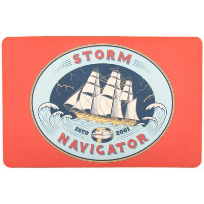 Nautical Storm Navigator Floor Mat