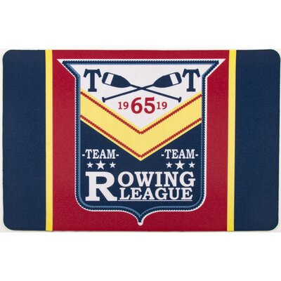 Nautical Rowing League Floor Mat