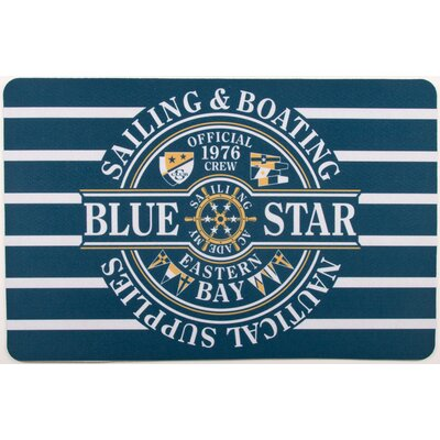 Nautical Star Sailing Floor Mat