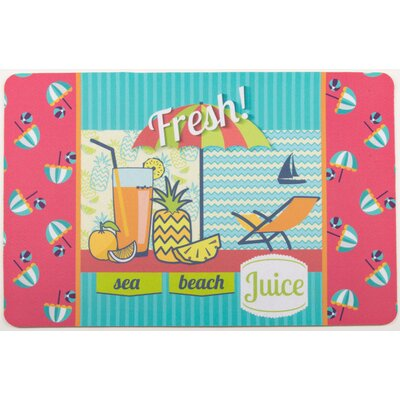 Garden Fresh Juice Floor Mat
