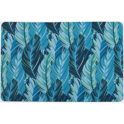 Tropical Midnight Jungle Doormat