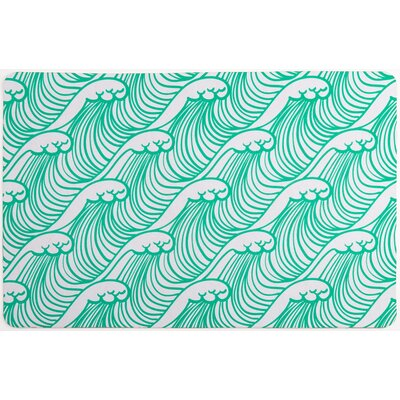 Coastal Wave Hello Floor Mat