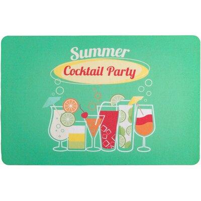 Garden Cocktail Party Floor Mat