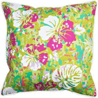 Tropical Key West Tropical Throw Pillow
