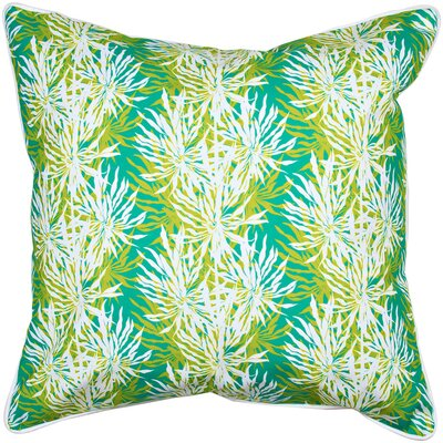 Tropical Palm Springs Throw Pillow
