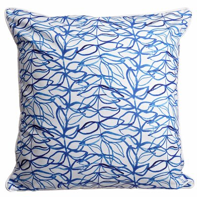Garden Trailing Vine Throw Pillow