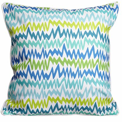 Modern Ocean Vibes Throw Pillow