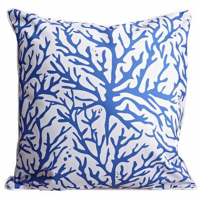 Waterbury Throw Pillow Color: Blue