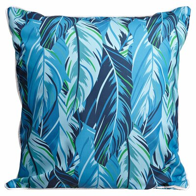 Tropical Midnight Jungle Throw Pillow