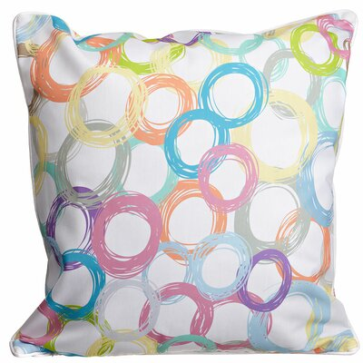 Modern Coiled Throw Pillow