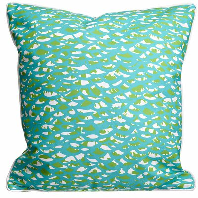Coastal Fish Scales Throw Pillow