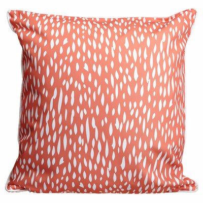 Hipster Coral Throw Pillow Color: Coral