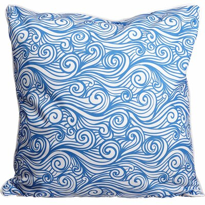 Coastal Dreamy Sea Throw Pillow