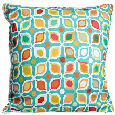 Modern Vintage Geometric Throw Pillow