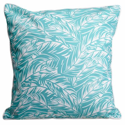 Tropical Jamaican Jungle Throw Pillow