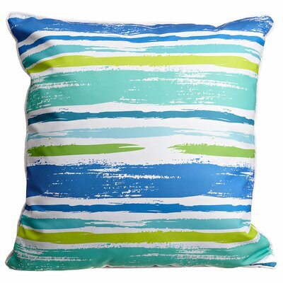 Modern Coastal Lines Throw Pillow