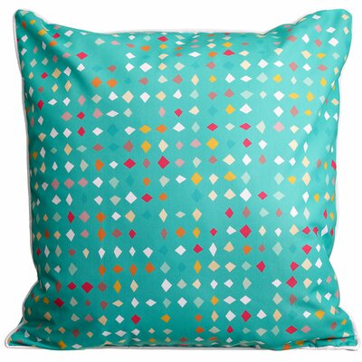 Modern Diamonds Confetti Throw Pillow