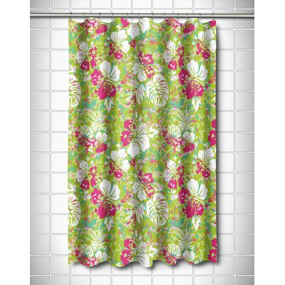 Tropical Key West Tropical Shower Curtain