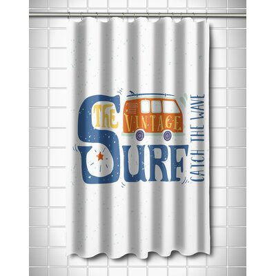 Surfer Vintage Surf Van Shower Curtain