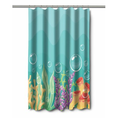 Coastal Sea Bed Shower Curtain
