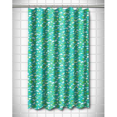 Coastal Fish Scales Shower Curtain