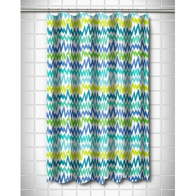 Modern Ocean Vibes Shower Curtain