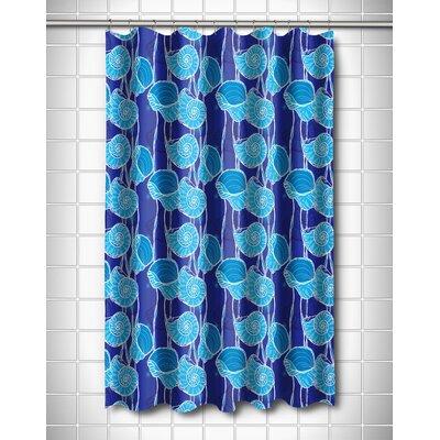 Coastal Nautilus Float Shower Curtain