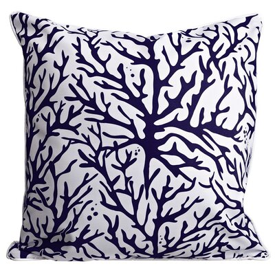 Waterbury Throw Pillow Color: Navy
