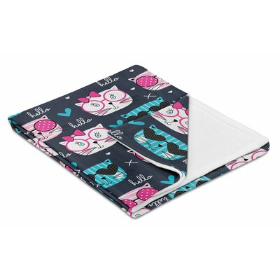 Kids Kool Kat Throw Blanket IGH-THR134