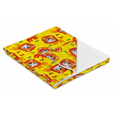 Kids King Lion Fleece Throw Blanket